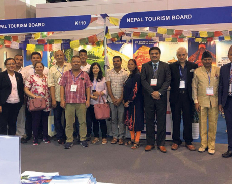 Nepal promotes VNY 2020 in Hong Kong travel fair
