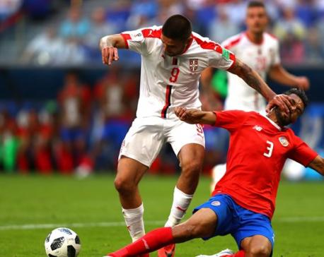 Kolarov's stunning free kick gives Serbia victory over Costa Rica