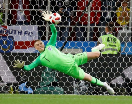 England end penalty curse to reach last eight