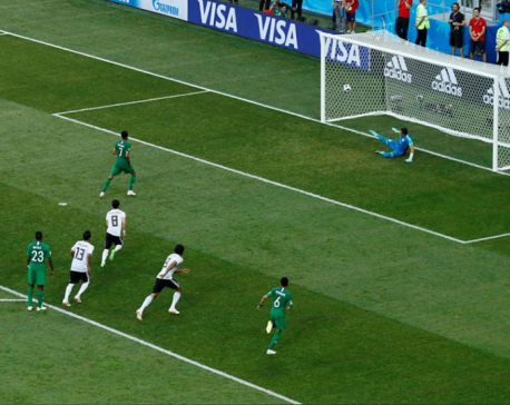Saudis add to Salah's misery, beat Egypt 2-1 in World Cup farewell