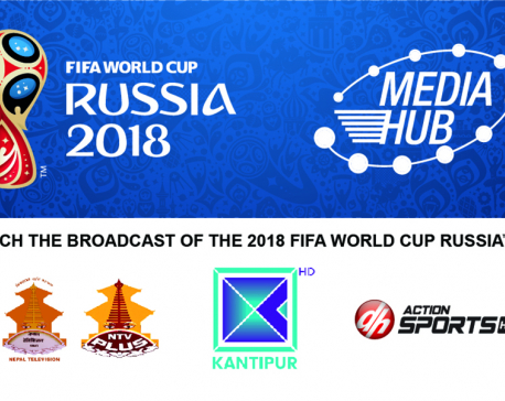 Four Nepali channels to broadcast FIFA World Cup 2018