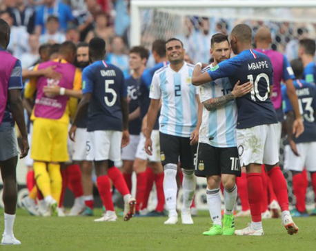Mbappe double leads France past Argentina in 4-3 thriller
