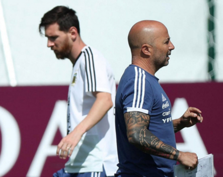 Argentina will finally get World Cup campaign going against Nigeria - Sampaoli