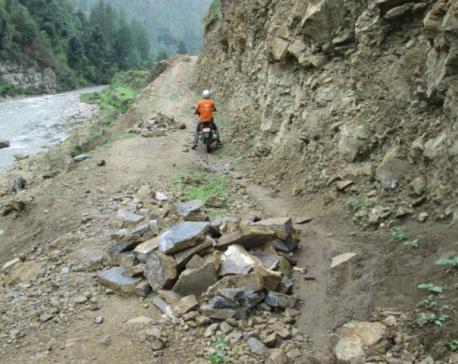 Soru village of Mugu connected to road access