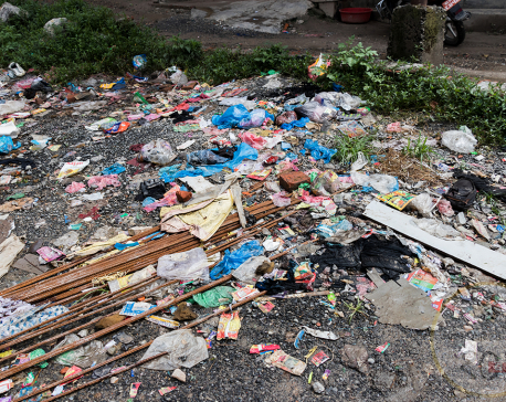 24 metric tons waste cleared from valley rivers, ring road
