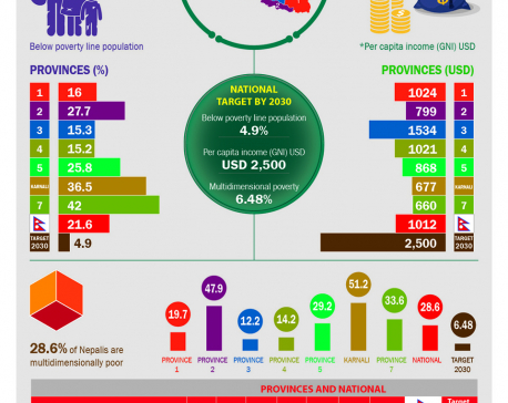 Infographics: End poverty in all its forms everywhere