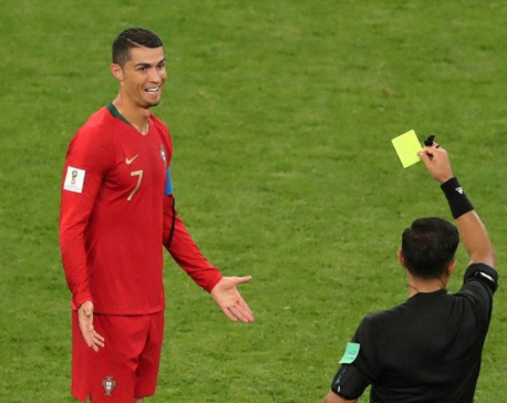 Ronaldo foul sets World Cup penalties record