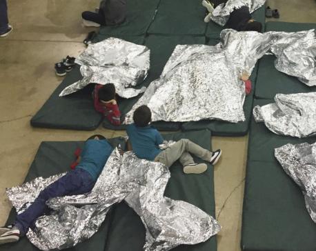 'Papa! Papa!' Audio of children stokes rage over separation