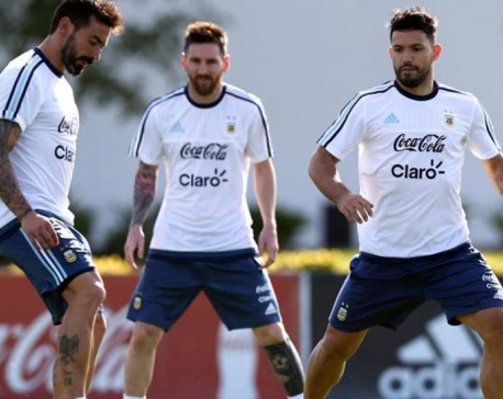 Aguero in, Higuain out as Argentina gears against Iceland