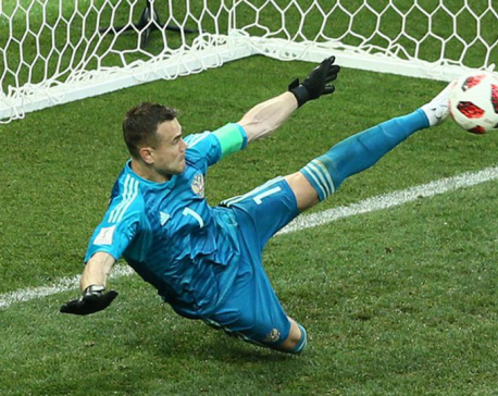 Russia stuns Spain 4-3 on penalties to reach World Cup quarters