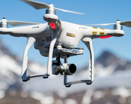 Four arrested for flying drones without permission