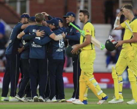 England sets new world record in One-Day cricket