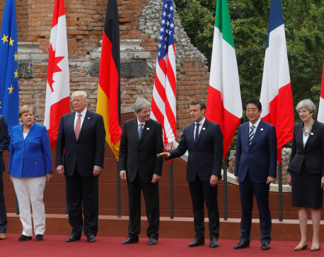 Trump threatens to escalate trade war on eve of a G7 summit