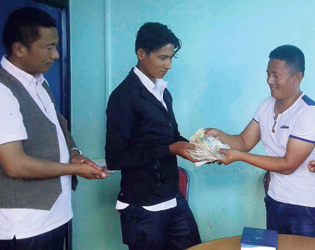 Khotang-UAE Society supports infant