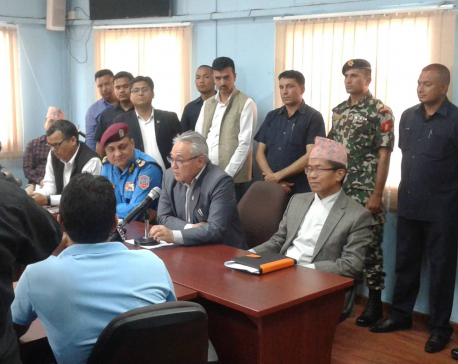 Don't be stubborn on Maitighar Mandala ban: HM Thapa