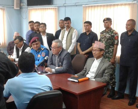 Don't be stubborn on Maitighar Mandala ban: HM Thapa