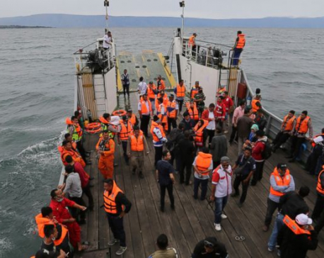 Indonesia raises number of ferry sinking missing to 166