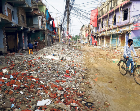 Janakpur left high and dry by defaulting contractors