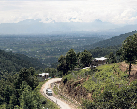 Four years on, Kamalbinayak-Nagarkot road construction still incomplete