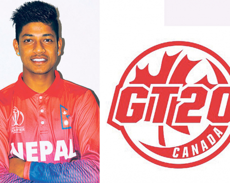Lamichhane drafted by Montreal Tigers for Global T20 Canada