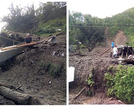 5 die in Dhading landslides