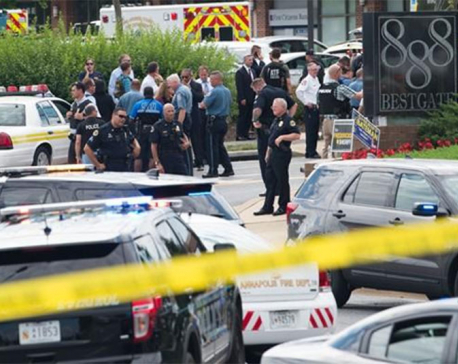 Maryland shooting: Five killed in attack on US newspaper