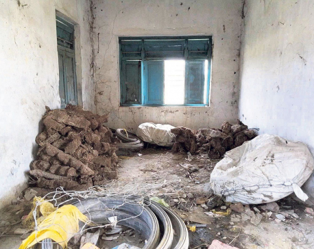 Miserable condition of school in education minister's election constituency