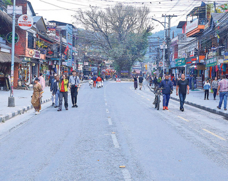 Pokhara Lakeside no more a no-vehicle zone
