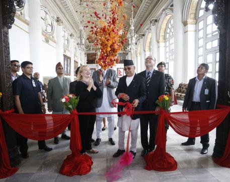 PM, US envoy jointly inaugurate restored Gaddi Baithak