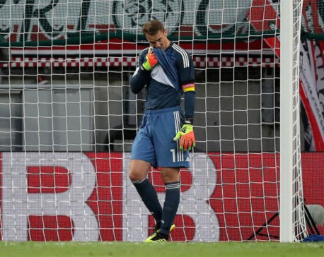 Neuer returns but unable to prevent Germany loss to Austria