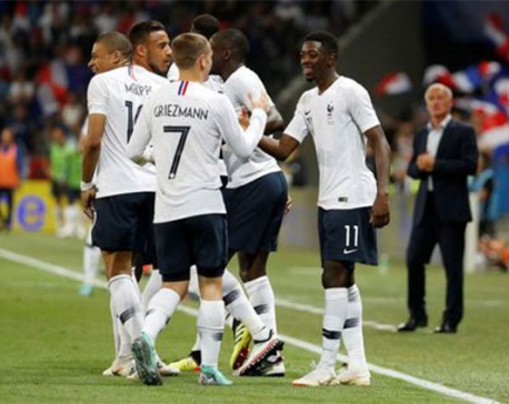 France beat Italy, Tunisia held, Korea lose, Aussies rampant