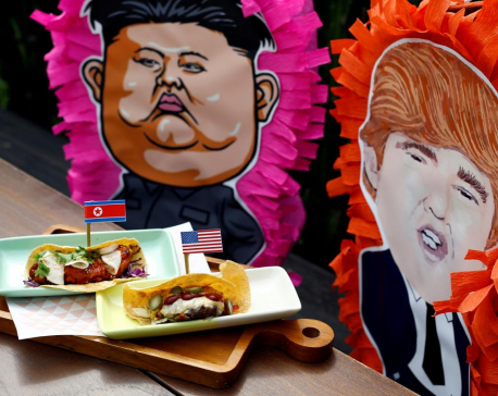 T-shirts, tacos, and tourism: Singapore businesses cash in on Trump-Kim mania