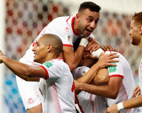 Khazri ends Tunisia's long wait for finals win