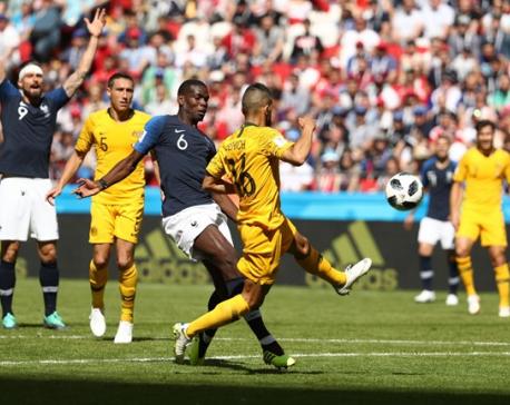 Pogba's decisive goal relieved Les Blues