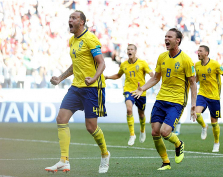 Sweden bury World Cup opening jinx to beat South Korea