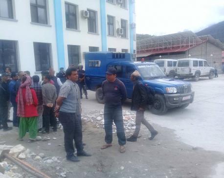 Govt team lands in Jumla to airlift Dr KC