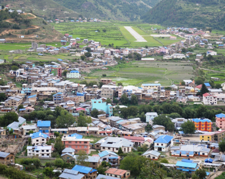 Unplanned settlements resulting in loss of arable land in Jumla