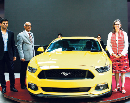 GO Automobiles unveils Ford Mustang for Nepali market