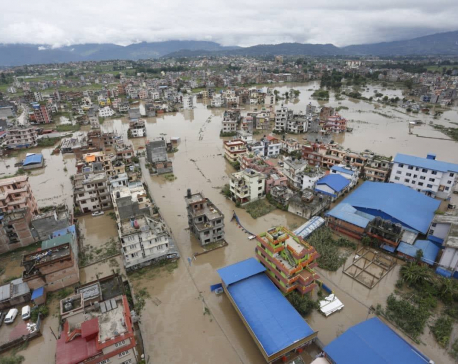 IN PICTURES: Bhaktapur flooded