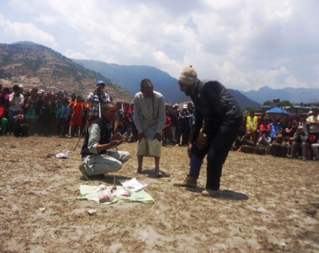 Jumla shamans send patients to hospitals