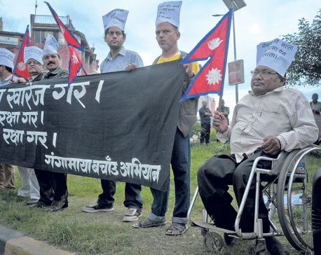 Main accused in the murder of Ganga Maya's son surrenders