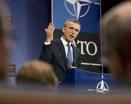 NATO head Stoltenberg urges not to isolate Russia over reunification with Crimea