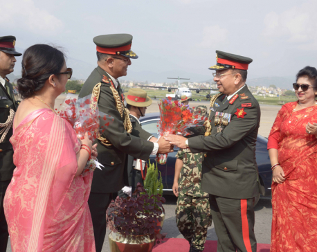 CoAS General Chhetri returns home wrapping his Pakistan visit