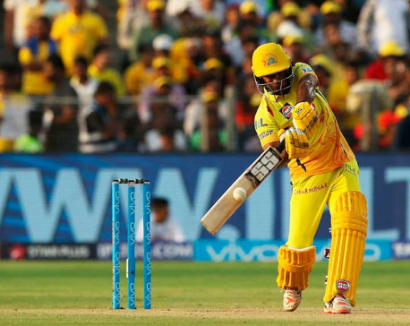 Chennai tops points table defeating Banglore by 6 wickets