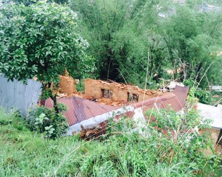 Heavy windstorm wreaks havoc in Waling