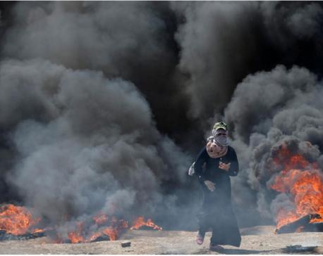 Israeli forces kill dozens in Gaza as U.S. Embassy opens in Jerusalem