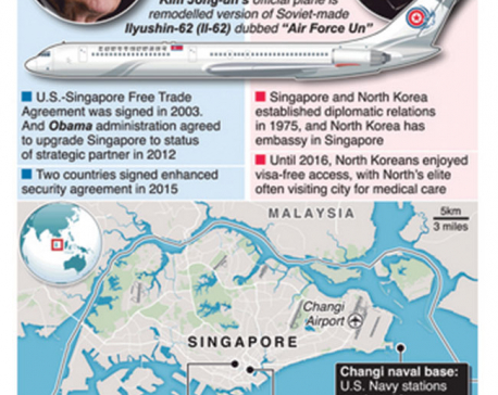 Ties with US, North Korea make Singapore optimum summit site