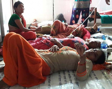Contaminated water source increases patients suffering from diarrhea in Dang