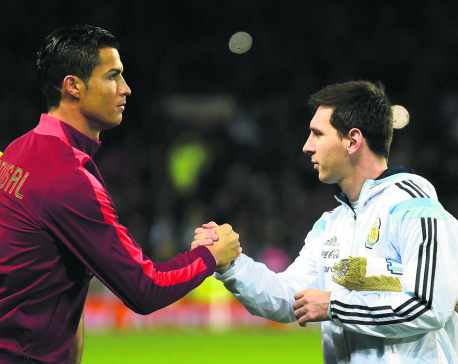 Dads Ronaldo and Messi still seek World Cup title