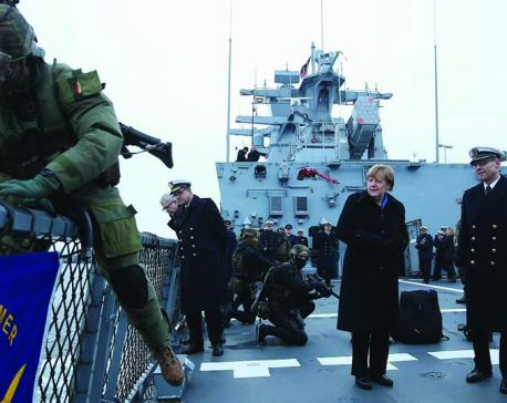 Germany's European heist